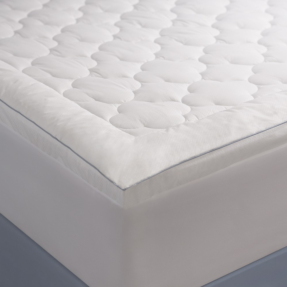 Image of Allied Home King PerfectCool Thermoregulating Mattress Pad White