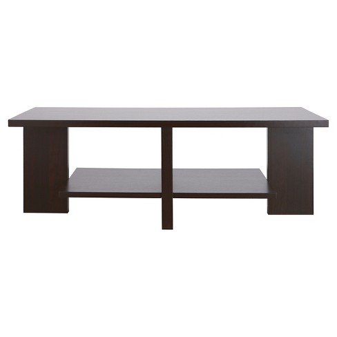 Annita Unique Interlocking Coffee Table Cappuccino - HOMES: Inside + Out - image 1 of 3
