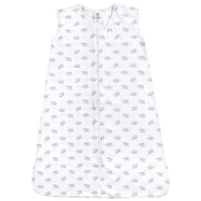 Luvable Friends Baby Sleeveless Jersey Cotton Sleeping Bag, Sack, Blanket, Elephants Jersey