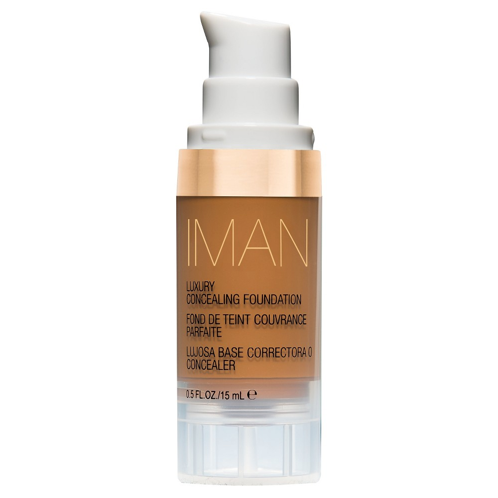 Image of Iman Luxury Concealing Foundation Earth 1 0.5 oz