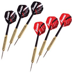 Franklin Sports XS100 Steel Tip Dart Set 6Pk