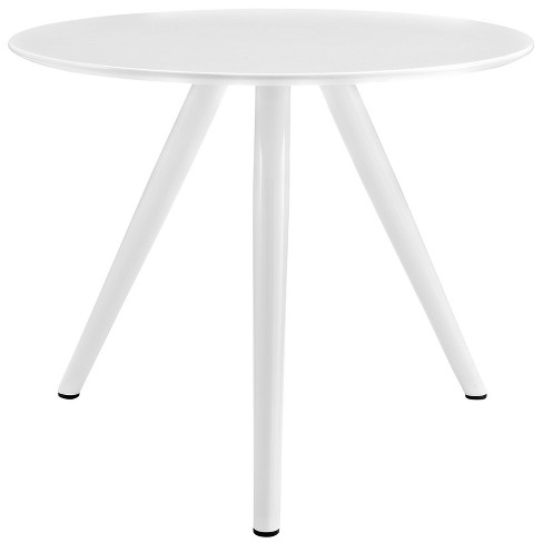 "Lippa 36"" Round Wood Top Dining Table with Tripod Base White - Modway - image 1 of 4"