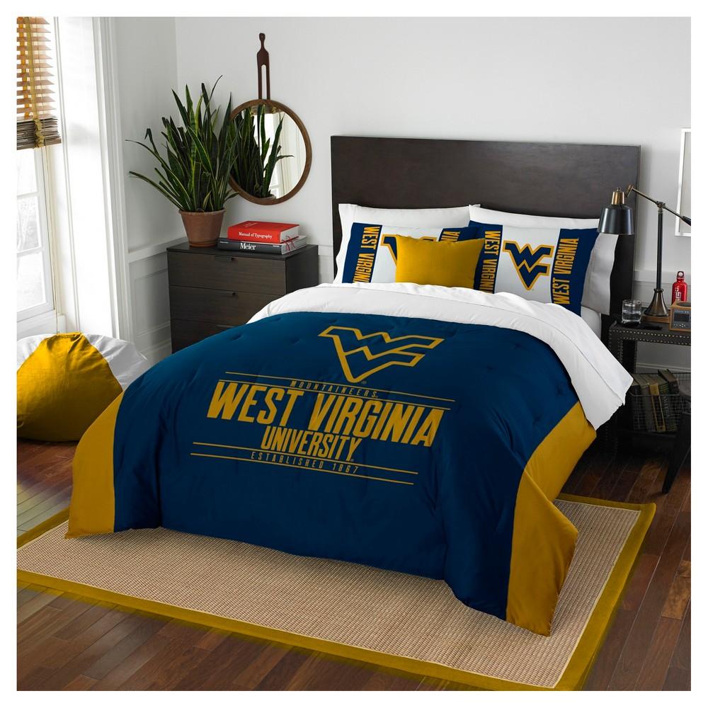 NCAA Northwest Modern Take Full/Queen Comforter Set West Virginia Mountaineers - 86 x 86