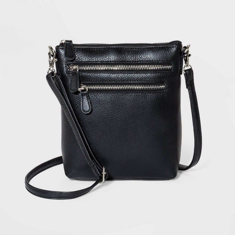 Image of Great American Leather Mini Crossbody Bag - Black