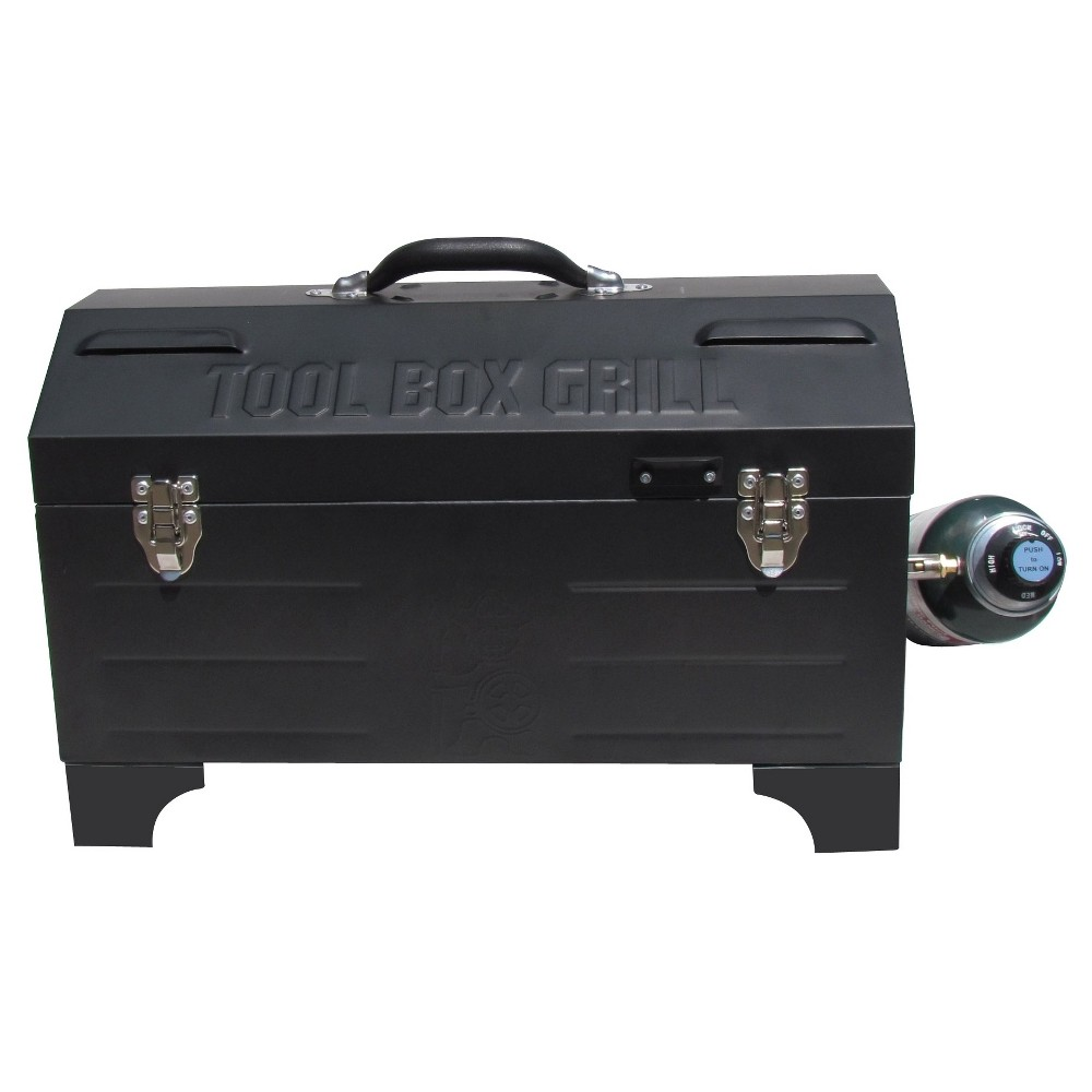 Image of Gas Toolbox Grill - Black - Model 124000K - Keg-a-Que