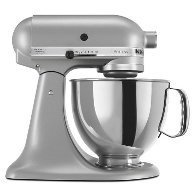 KitchenAid Refurbished Artisan Series Stand Mixer - Silver RRK150SL