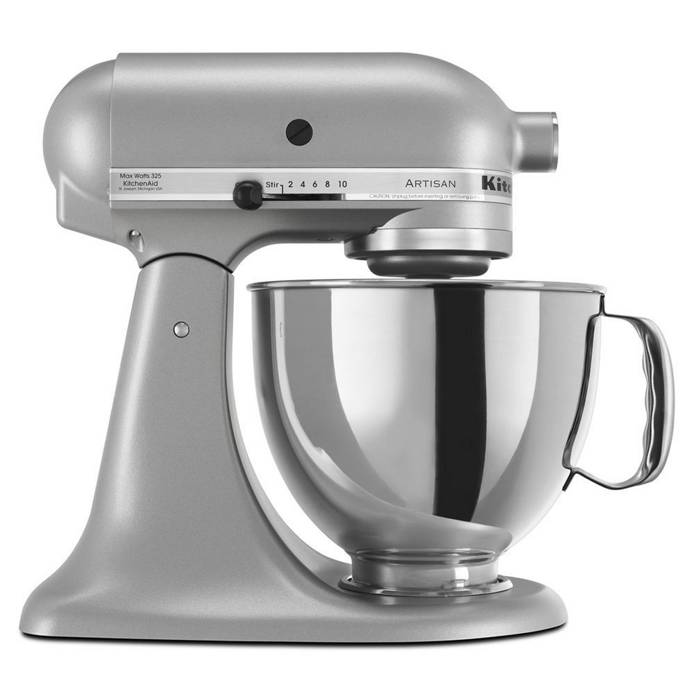 KitchenAid Refurbished Artisan Series Stand Mixer – Silver RRK150SL 53499019