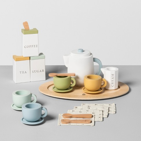 Wooden Toy Tea Set - Hearth & Hand™ with Magnolia - image 1 of 1