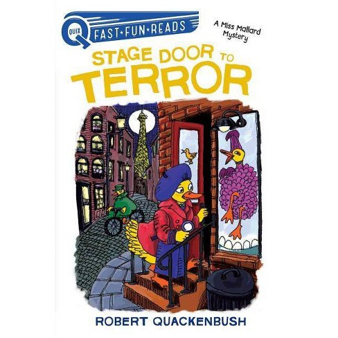 Stage Door to Terror - (Quix) by  Robert Quackenbush (Hardcover) - image 1 of 1
