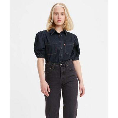 Levi's® Women's Alice Short Sleeve Denim Button-Down Shirt
