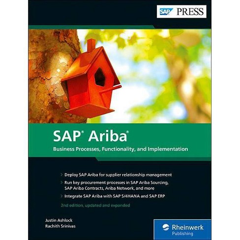 SAP Ariba - 2 Edition by  Justin Ashlock & Rachith Srinivas (Hardcover) - image 1 of 1
