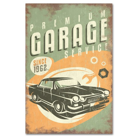 'Car 5' by Lantern Press Ready to Hang Canvas Wall Art - image 1 of 3
