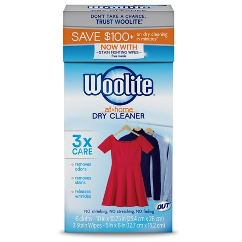 Woolite Fresh At Home Dry Cleaner - 6 ct - image 1 of 7