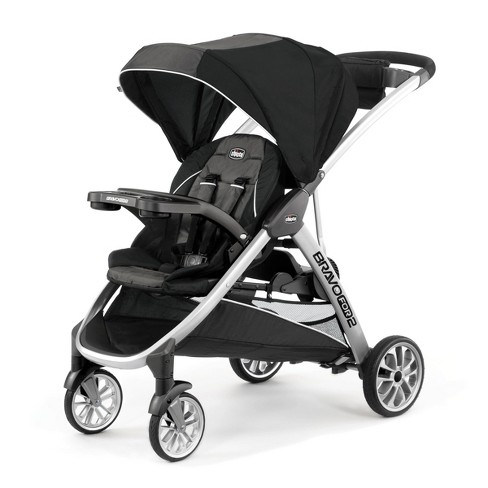 Chicco Bravo for 2 Double Stroller - Iron - image 1 of 4