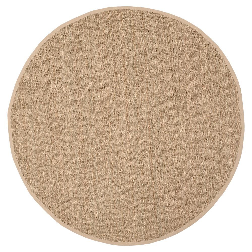Natural Fiber Rug - Natural/Beige - (8'x8' Round) - Safavieh