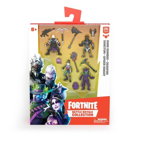 Fortnite Battle Royale Collection Action Figure 4pk - image 1 of 4