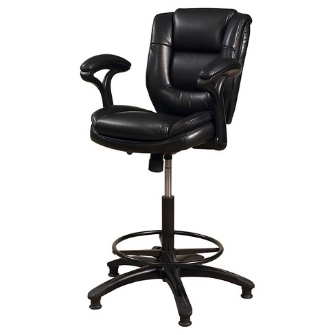 Enjoyable Dawson Adjustable Armchair 28 32 Barstool Metal Black Vinyl Hillsdale Furniture Theyellowbook Wood Chair Design Ideas Theyellowbookinfo