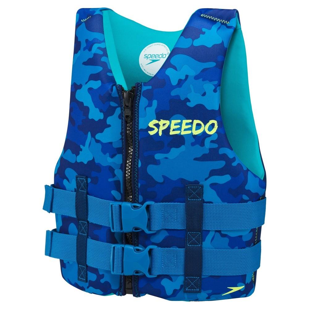 Speedo Youth Neo Life Jacket Vests - Blue