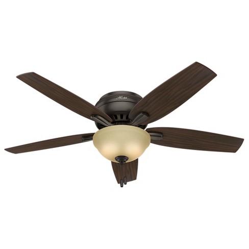 "52"" Newsome Ceiling Fan With Light Premier Bronze - Hunter ..."