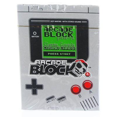 Nerd Block Arcade Block Classic Console Casino Cards