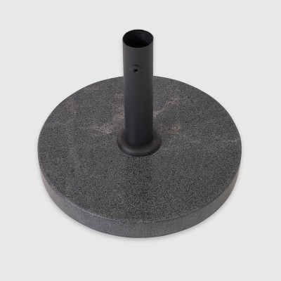 Granite Umbrella Base - Black - Threshold™