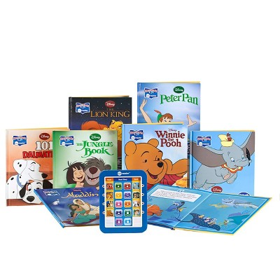 Pi Kids Disney Classic Electronic Me Reader and 8-Book Library Boxed Set