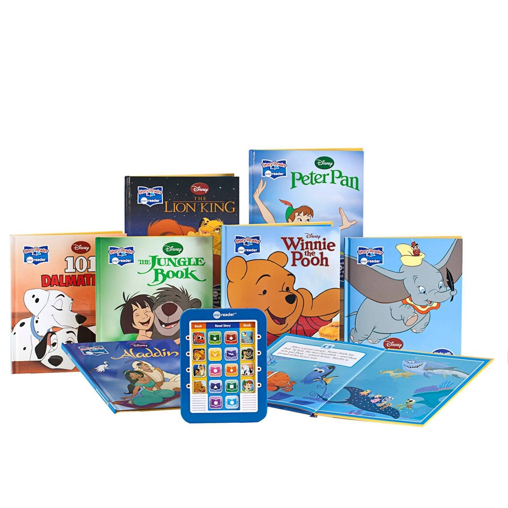 Pi Kids Disney Classic Electronic Me Reader And 8 Book Library Boxed Set