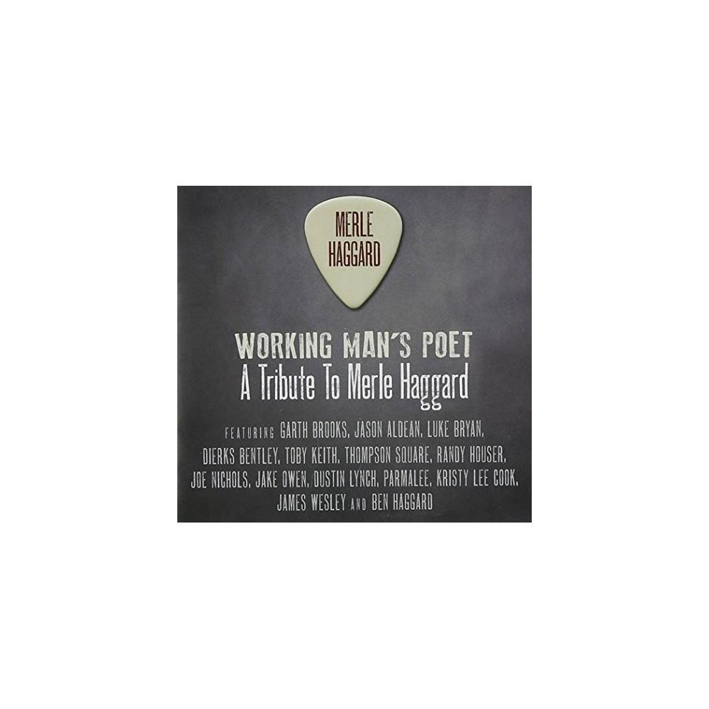 Various - Working Man's Poet:Tribute/Merle Hagg (CD)