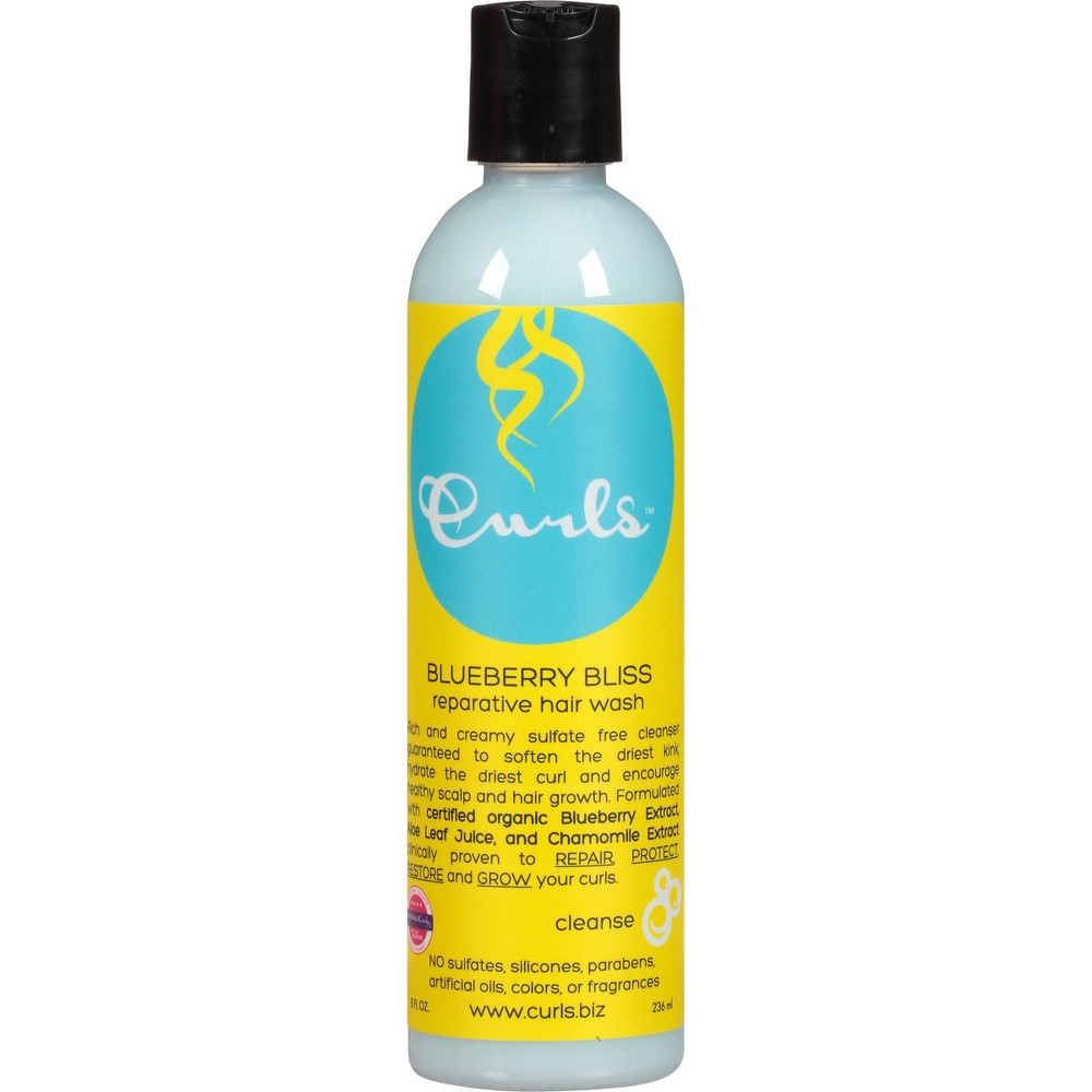 Image of Curls Blueberry Bliss Reparative Hair Wash 8 - fl oz