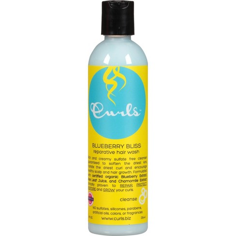 Curls Blueberry Bliss Reparative Hair Wash 8 - fl oz - image 1 of 3