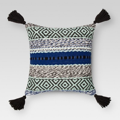 Blue Stripe Throw Pillow - Threshold™