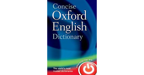 Concise Oxford English Dictionary (Hardcover) - image 1 of 1