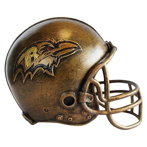 NFL Mini Bronze Helmet Statue Sports Memorabilia - image 1 of 1