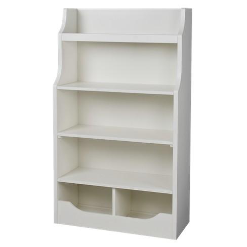 Mori 5 Shelf Bookcase Off White Threshold