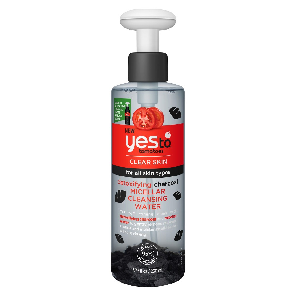 Yes To Tomatoes Charcoal Micellar Water - 7.77oz