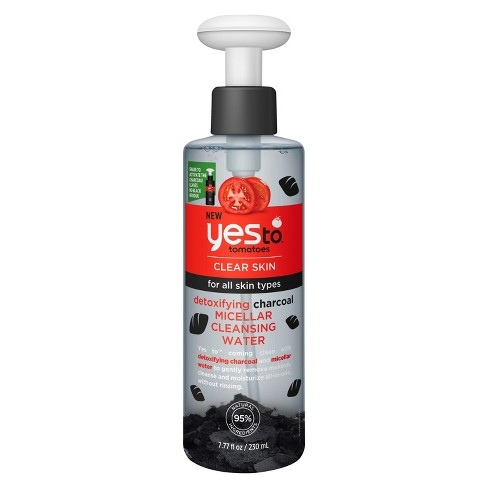 Yes To Tomatoes Charcoal Micellar Water - 7.77oz - image 1 of 2
