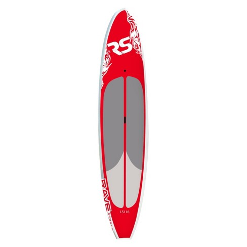 """RAVE Sports 11' 6"""" Lake Crusier Stand Up Paddle Board-Red - image 1 of 4"""