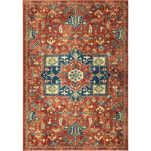 Mosaic Antique Merekan Woven Rug - Orian Woven Rugs - image 1 of 4