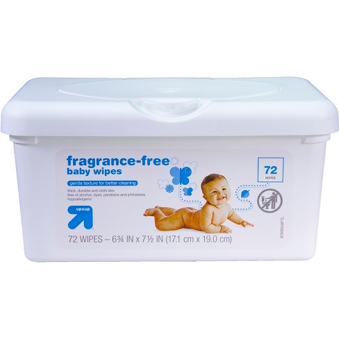 Baby Wipes Tub - Unscented - 72 ct - Up&Up™ - image 1 of 3
