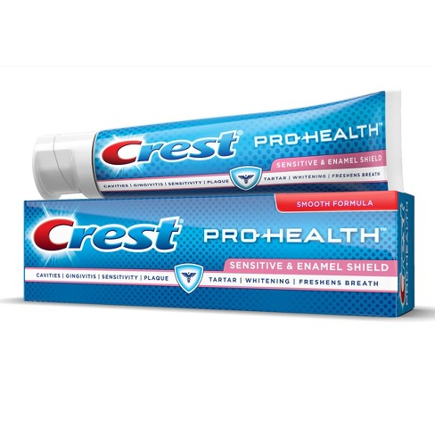 Crest Pro-Health Sensitive and Enamel Shield Toothpaste - 5.1oz/2pk - image 1 of 5