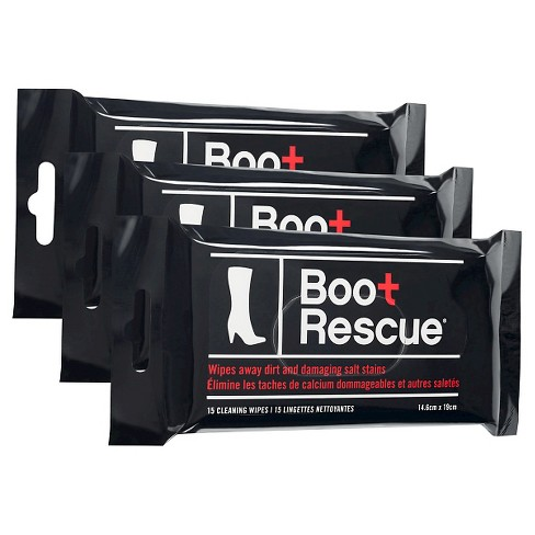 Boot Rescue All Natual Cleaning Wipes 3pk - Boot Rescue - image 1 of 1