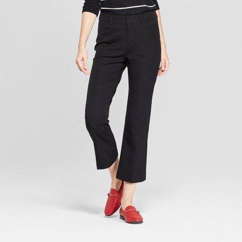 Women's Kick Flare Ankle Pants - A New Day™ - image 1 of 3