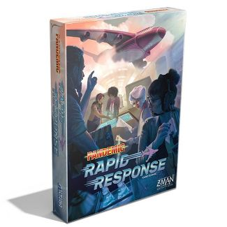 Z-Man Games Pandemic Rapid Response Board Game (Target Exclusive)