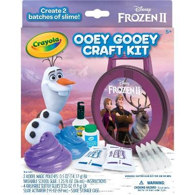 Crayola Ooey Gooey Craft Kit - Frozen 2