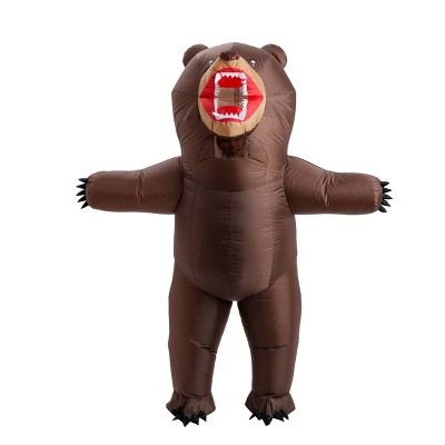 Adult 7' Bear Inflatable Halloween Costume One Size