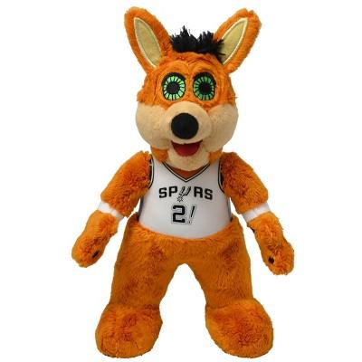 "NBA San Antonio Spurs Bleacher Creatures Coyote Mascot Plush Figure - 10"""