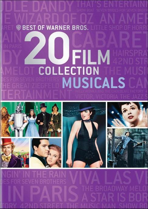Best of warner/Collection:Musicals (DVD) - image 1 of 1