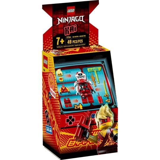 LEGO NINJAGO Kai Avatar Arcade Pod 71714 Mini Arcade Machine Building Set image number null