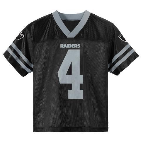 big sale 60823 2e328 NFL Oakland Raiders Boys' Carr Derek Jersey