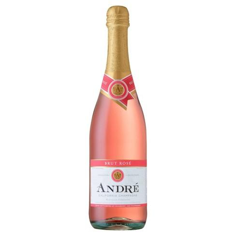 Andr Brut Ros Champagne - 750ml Bottle - image 1 of 1